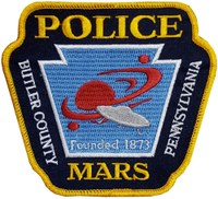 Mars, Pennsylvania, Police Department