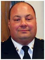Officer Jim Tadrowski and Division Commander Mike Cimaglia of the Berwyn, Illinois Police Department rescued a man with burn injuries from his flame-engulfed residence. Cimaglia was a Bulletin Notes recipient in May 2012.