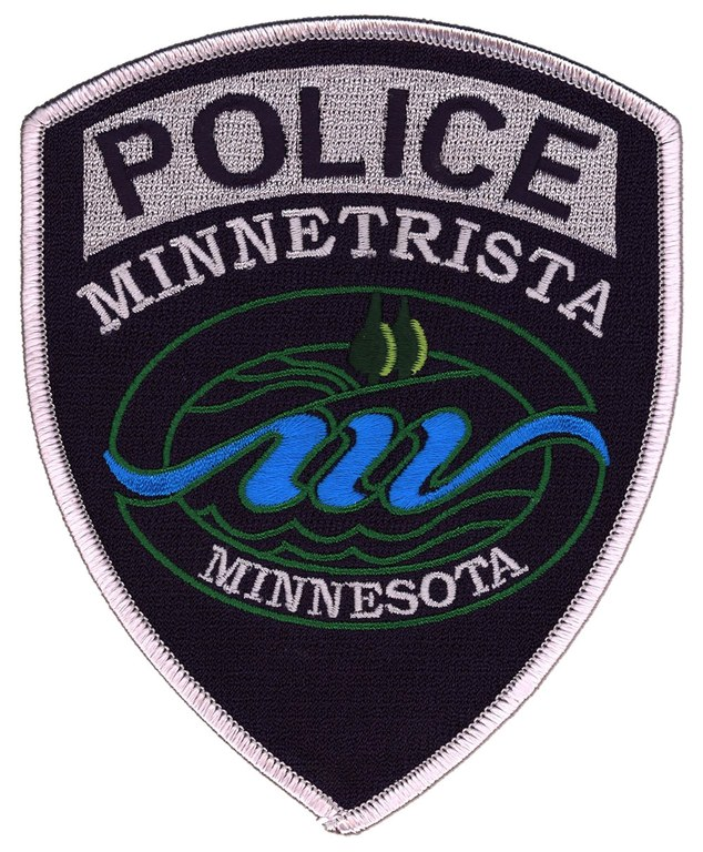 The shoulder patch of the Minnetrista, Minnesota, Police Department.