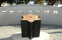 Bulletin Honors: Monterey County, California, Sheriff's Memorial
