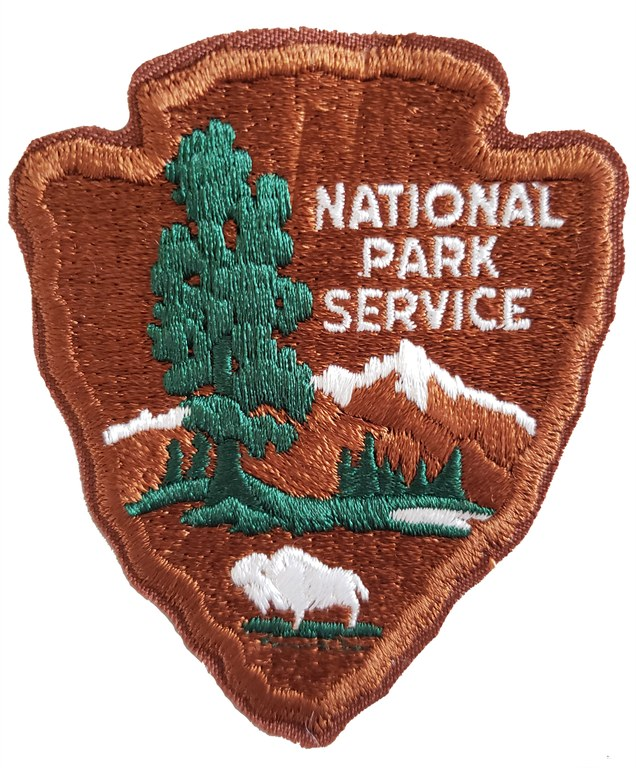 The shoulder patch of the National Park Service.