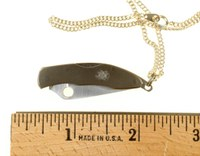 Unusual Weapons: Necklace with Knife
