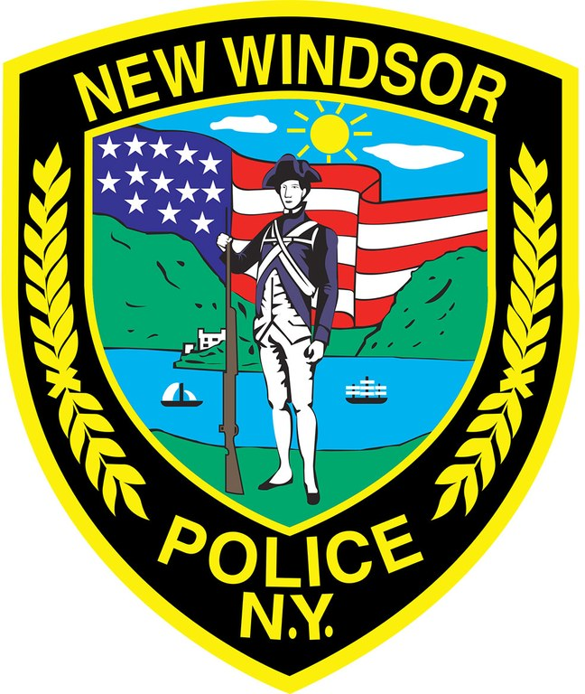 The police patch for the Town of New Windsor, New York, Police Department.