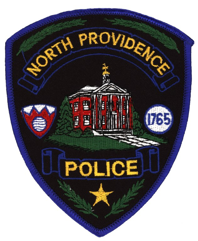 A scanned image of the North Providence, Rhode Island, Police Department shoulder patch.