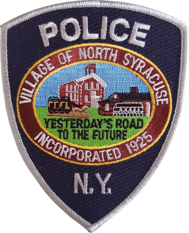 The shoulder patch of the North Syracuse Police Department.