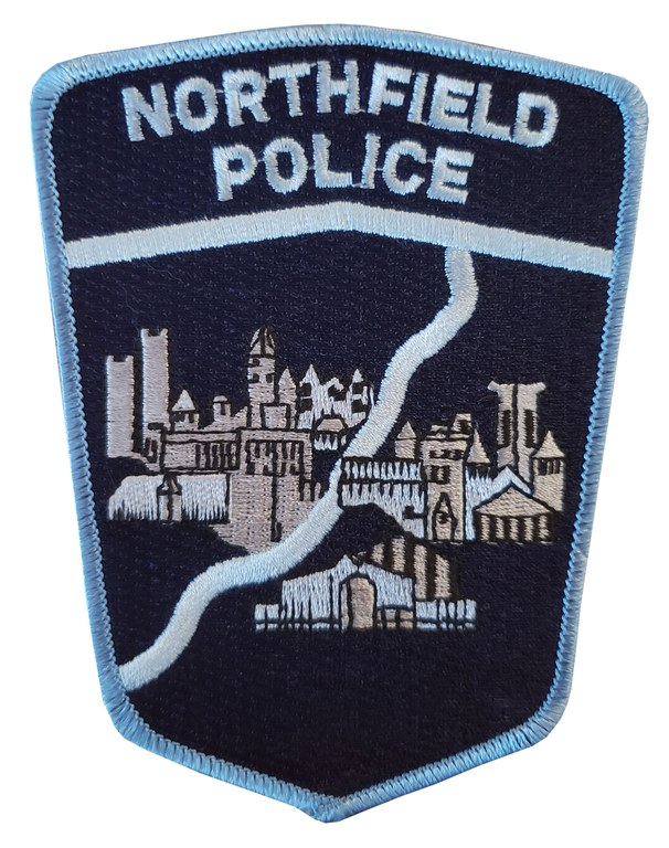 The shoulder patch of the Northfield, Minnesota, Police Department.