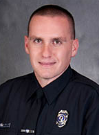 Photo of Officer Dave McLearin of the Champaign, Illinois, Police Department.