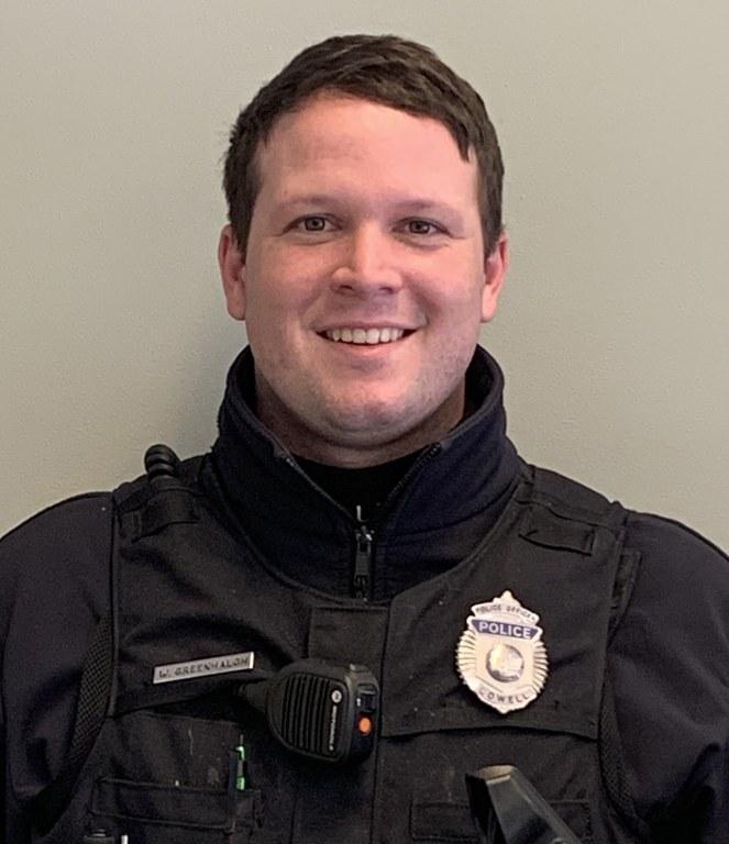 Officer Warren Greenhalgh
