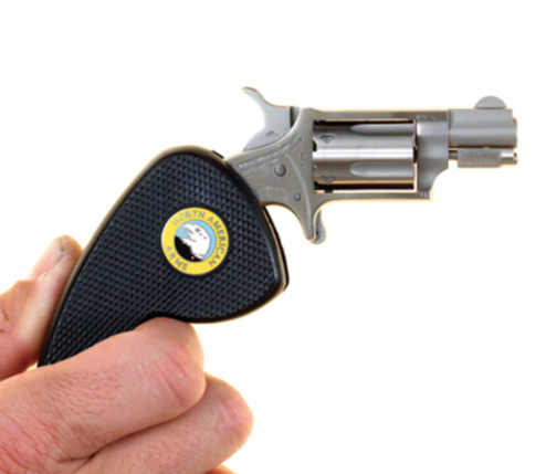 Pager Gun in Person's Hand
