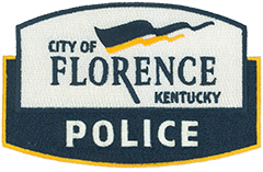 "The city of Florence, Kentucky, is part of the Cincinnati metropolitan area and was incorporated on January 27, 1830. The patch of the Florence Police Department features a navy blue and gold flag blowing in the wind, signifying a city on the move. Initially, the area was called Crossroads, owing to the convergence of several routes from the nearby towns of Burlington and Union. By 1821, it was renamed Maddentown; then, Connersville 7 years later; and, finally, Florence because another Connersville existed 54 miles away. With almost 32,000 residents today, Florence is the second-largest city in northern Kentucky and one of the fastest-growing communities in the state. The city's most prominent landmark is a nationally renowned 135-foot water tower proudly painted with the words ""Florence Y'all."""