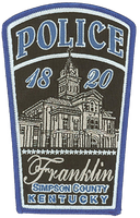 Franklin, Kentucky, Police Department