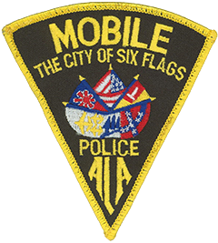 The patch of the Mobile, Alabama, Police Department depicts the six flags under which the city has existed—clockwise from the top, these are the United States, Spain, the Confederate States, the Republic of Alabama, France, and Great Britain. Mobile was founded in 1702 by French settlers and established as the first capital of the Louisiana Territory. In 1763 France ceded the city and its surrounding territory to Great Britain. Spain captured and claimed Mobile in 1780, though 10 years later it was ceded back to France. In 1803 President Thomas Jefferson purchased the Louisiana Territory, and Mobile became a U.S. city. When the State of Alabama seceded in 1861, the Republic of Alabama was briefly formed, then merged into the Confederate States. At the end of the Civil War, Alabama and Mobile rejoined the United States. Today Mobile is the third most populous city in the state, with over 195,000 residents.