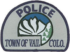 The Vail, Colorado, Police Department patch depicts a pristine view of the nearby Gore Mountain Range. The jagged rows of majestic 13,000-foot peaks meet a crisp blue sky and provide a spectacular backdrop for the town and its renowned ski resort, both named after Vail Mountain. Vail was incorporated in 1966 as the base village to the resort, which today is the second largest single mountain ski resort in the United States and among the highest rated nationwide. Over the years, Vail's population has soared to more than 5,000 residents. The Vail Police Department has grown with it, consisting of over 30 officers and over 30 support personnel.