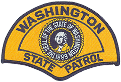The Washington State Highway Patrol was created on June 8, 1921, and initially consisted of six motorcycle patrolmen assigned to police 3,119 miles of roadway (only some of which was paved). Renamed the Washington State Patrol in 1933, this internationally accredited agency now employs over 2,400 troopers and civilian employees and patrols more than 7,000 miles of state highways. The blue and gold service patch of the Washington State Patrol has been in continuous use since 1954. It first was designed in 1953 for the state's territorial centennial and, due to its immediate popularity, was slightly altered the following year to remove the centennial dates and include the Washington state seal, featuring a portrait of George Washington.