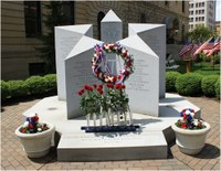 Bulletin Honors: Fraternal Order of Police Memorial, Canton, Ohio