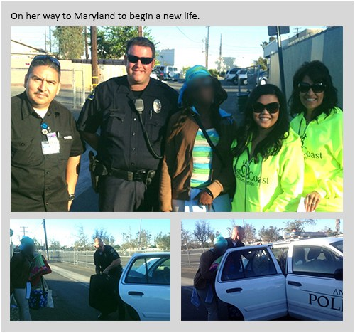 Anaheim Police Officers Assist the Homeless