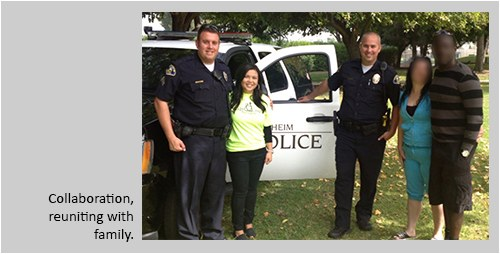Anaheim Police Officers Help the Homeless