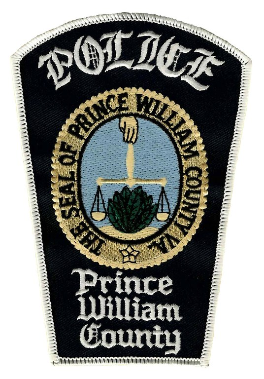 The shoulder patch of the Prince William County, Virginia, Police Department.
