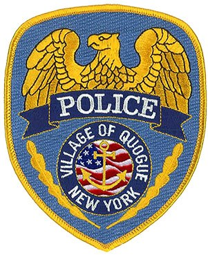 The shoulder patch of the Quoque Village, New York, Police Department.