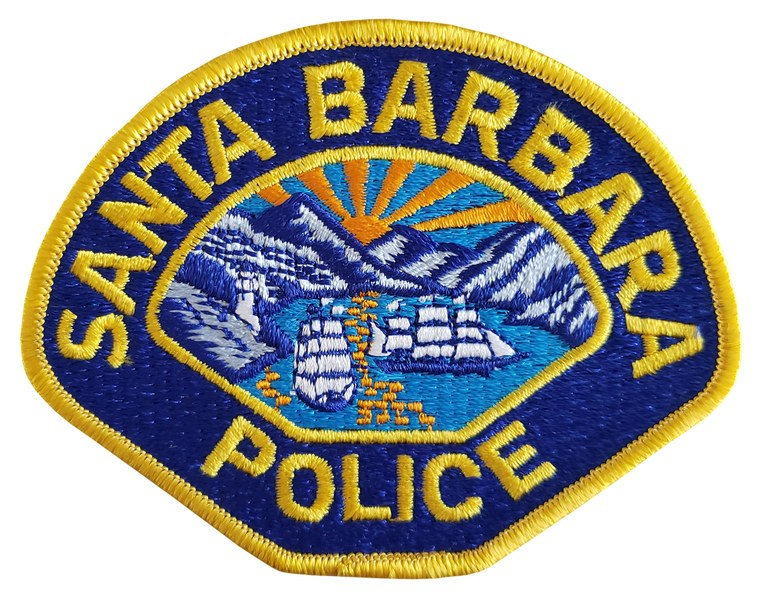 The shoulder patch of the Santa Barbara, California, Police Department.