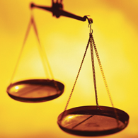 Scales of Justice (Stock Image)