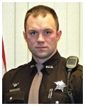 Deputy Jason Katers of the Brown County, Wisconsin Sheriff's Office safely evacuated three residents from a home on fire. Katers was a Bulletin Notes recipient in September 2011.