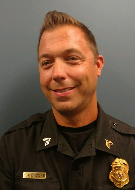 Sergeant Scott Brooks of the Montgomery County, Maryland, Department of Police.