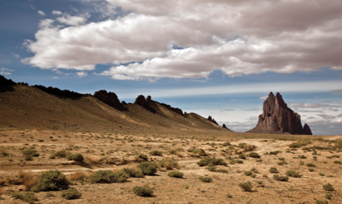 Shiprock located on the Navajo Nation in San Juan County, New Mexico. © Thinkstock.com.