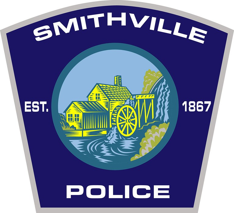 The police patch of the Smithville, Missouri, Police Department.