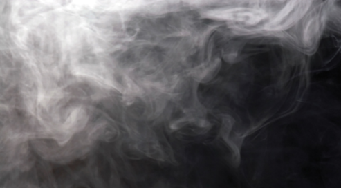 "Depiction of smoke produced by a marijuana cigarette, or ""joint."""