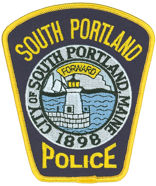 The city of South Portland, Maine, was incorporated in 1898 after comprising part of the town of Cape Elizabeth. The patch of the South Portland Police Department acknowledges this important year and depicts Bug Light, located on Casco Bay at the mouth of the Fore River and the entryway to the port of Portland.