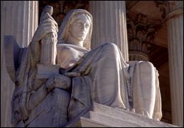 Statue at Supreme Court