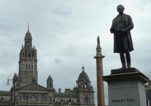 Statue of Robert Peel