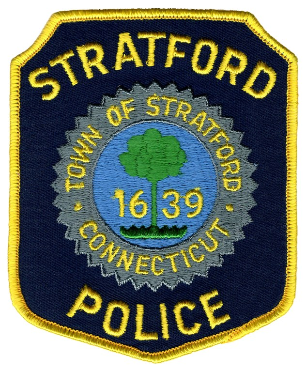 The shoulder patch of the Stratford, Connecticut, Police Department.