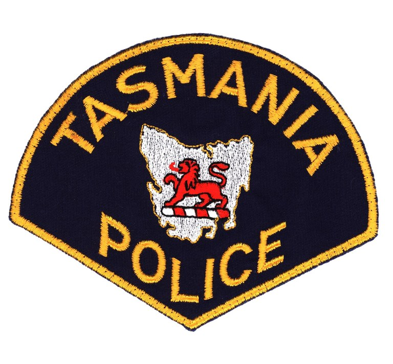 The patch of the Tasmania, Australia, Police.