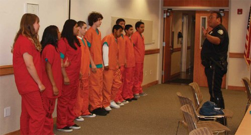 Teens Participate in Santa Cruz Police Department Gang Prevention Program
