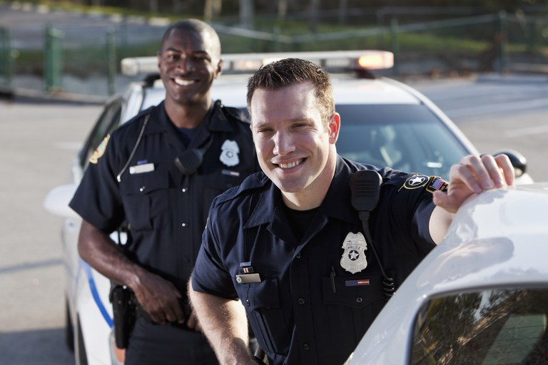 A stock image of two police officers.