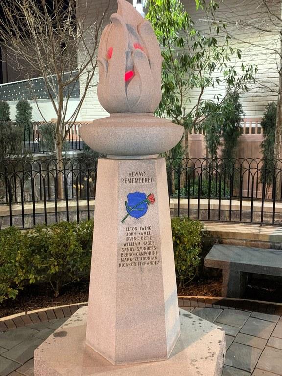 Union City Concrete Monument