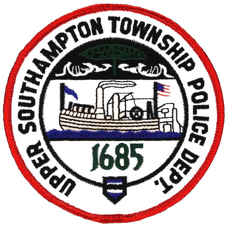 The police shoulder patch of the Upper Southampton Township, Pennsylvania, Police Department.
