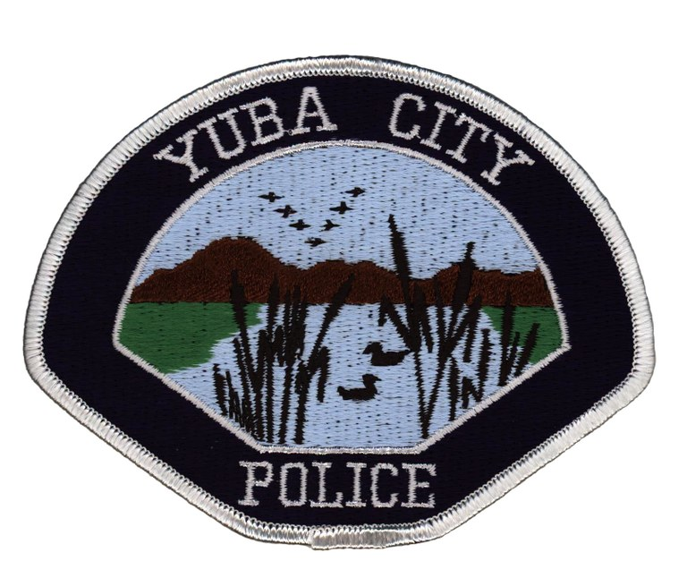 The patch of the Yuba City, California, Police Department.